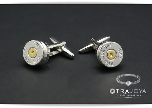 ORIGINAL CASING TOP BULLET CUFFLINKS